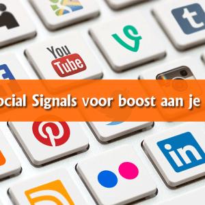 500 Social Signals voor boost aan je SEO!!!