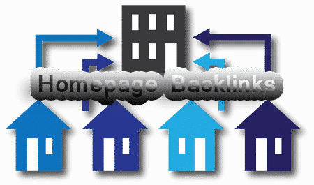 homepage backlinks