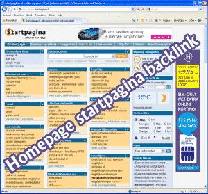 Homepage startpagina