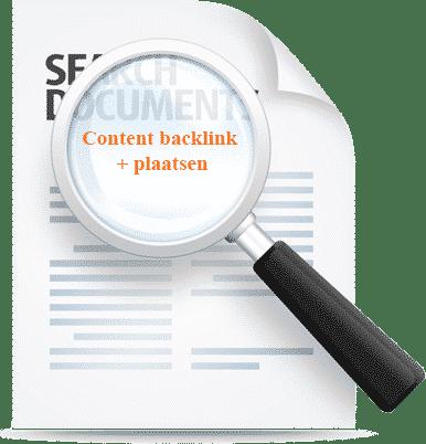 Content backlink woorden + plaatsen