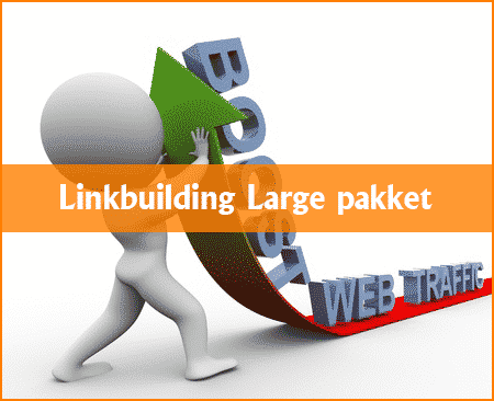 Linkbuilding Large pakket