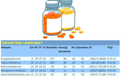 Drogisterij linkpakket – natuur reform drogist biologisch vitamine