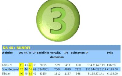 DA 40+ Bundel – trustflow domain-authority domein-auteriteit TF DA seo boost seo-boost