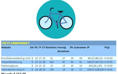 Fiets Linkpakket – fiets scooter