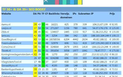 TF 50+ & DA 39+ SEO Boost – trustflow domain-authority domein-auteriteit TF DA seo boost seo-boost