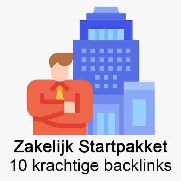 Zakelijk startpakket met 10 sterke backlinks!