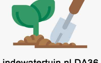 indewatertuin.nl DA36 – 1 geschreven blog met 2 backlinks
