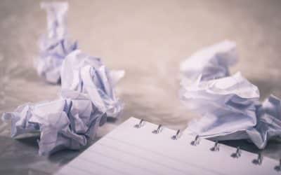 Wat te doen tegen een writer's block